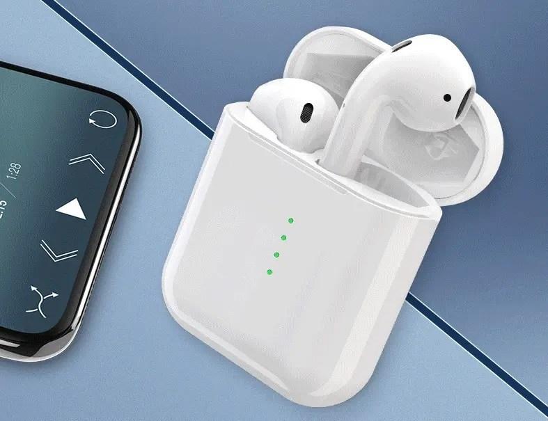i10/i12 TWS Smart Earbuds: ολοκαίνουριοι «κλώνοι» των AirPods από 16