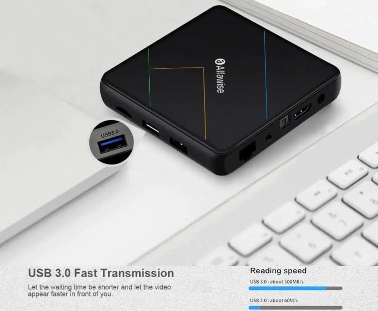 Alfawise A9X TV Box