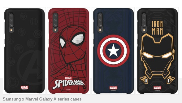 marvel samsung galaxy a40