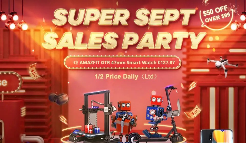 Super Sept Sales Party