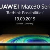 Huawei: δεν έρχονται Ελλάδα/Ευρώπη τα Mate 30 Series!