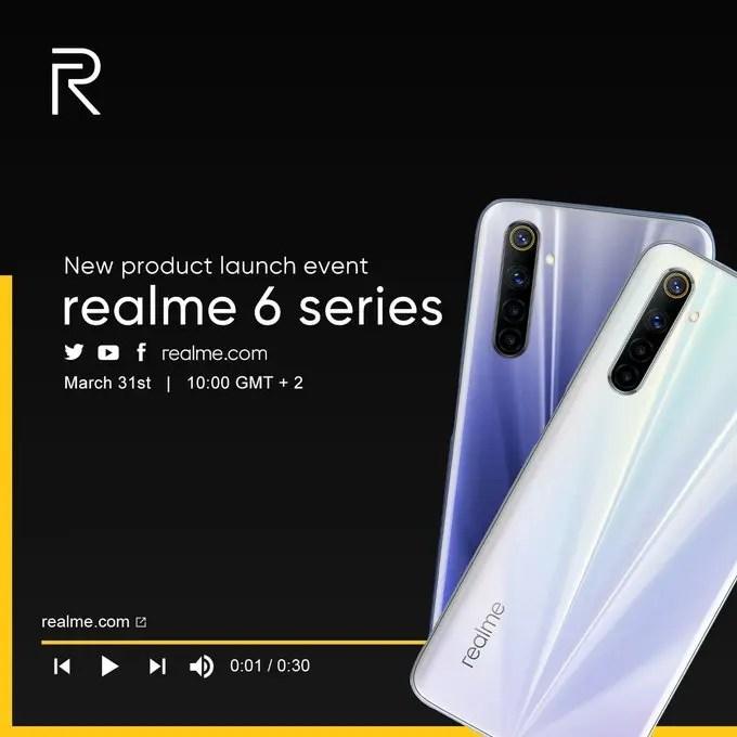 Realme 6/6 Pro
