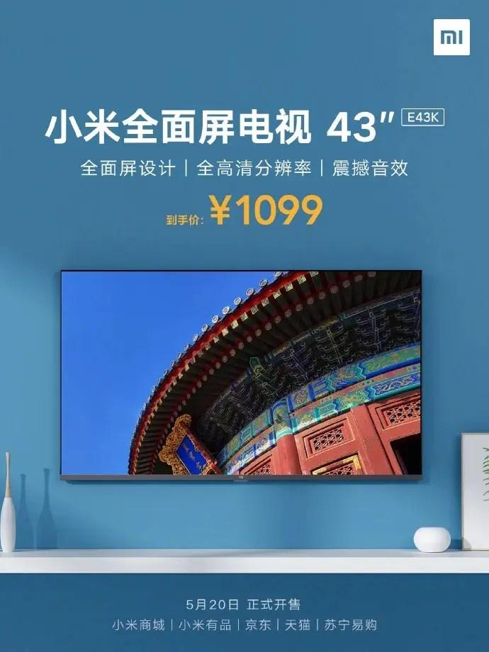 Xiaomi Mi TV E43K