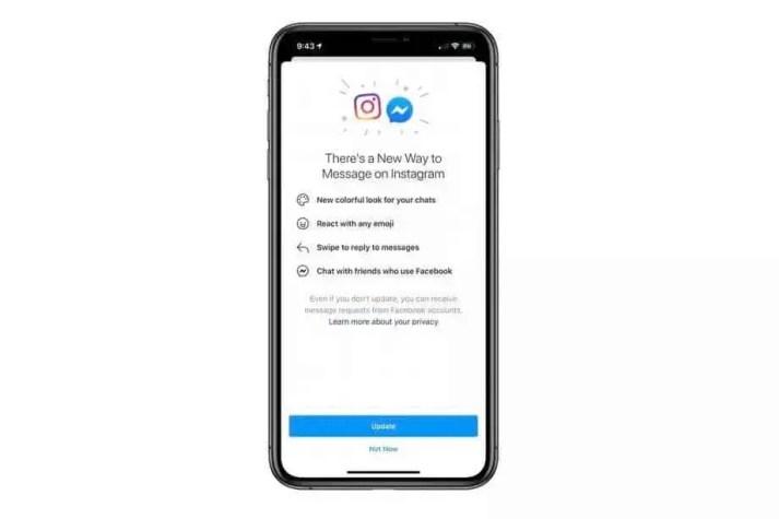 Facebook: Instagram Direct Messenger