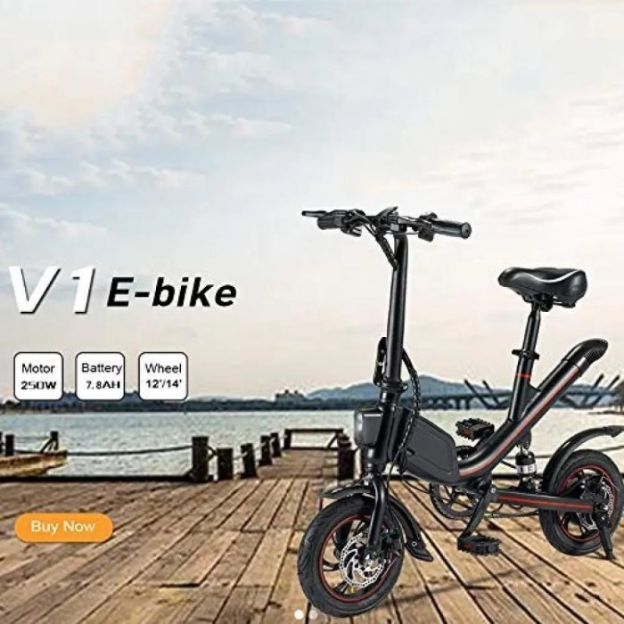 OUXI V1 Folding Electric Bike
