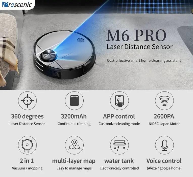 Proscenic M6 Pro