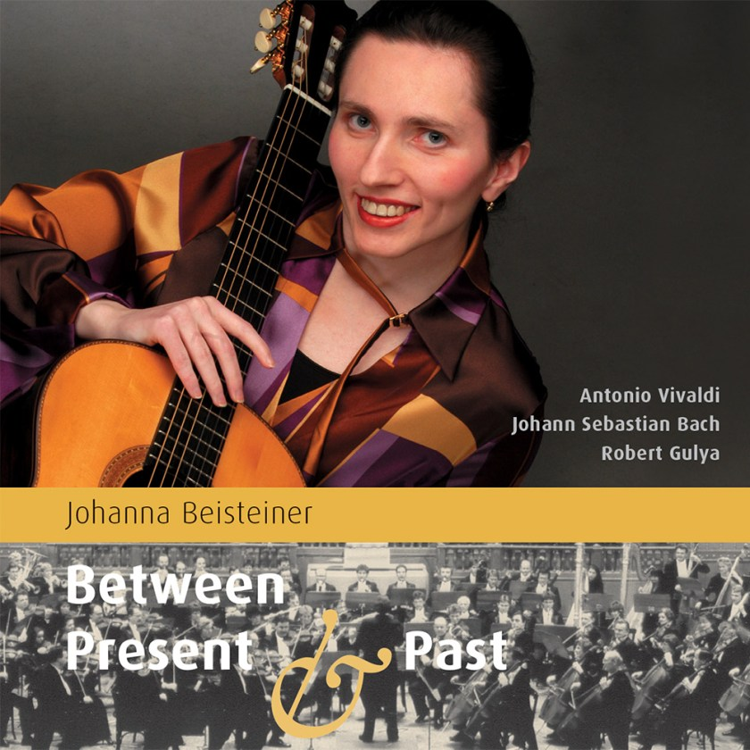 Johanna Beisteiner – Between Present and Past (CD) cover