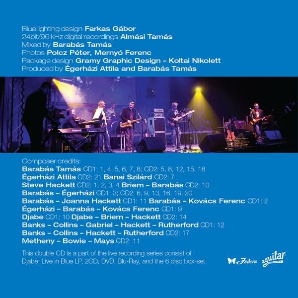 Djabe – Live in Blue (2CD) inner 01