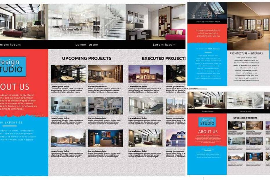 Design STUDIO Brochure Tri-fold