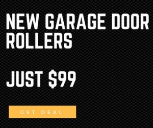 new garage door rollers $99 los angeles, ca