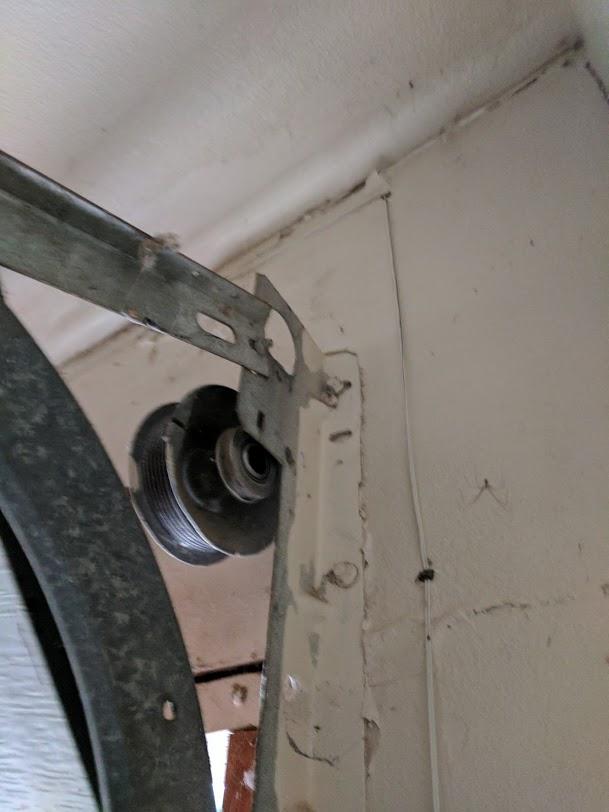 Off Track Garage Door Repair Project Whittier Ca Gr8