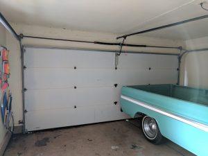 Off Track Garage Door Repair Project | Whittier, CA