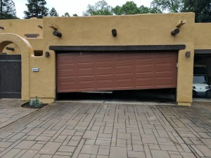Off Track Garage Door Repair Project | Whittier, CA