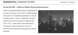 battery back up law california