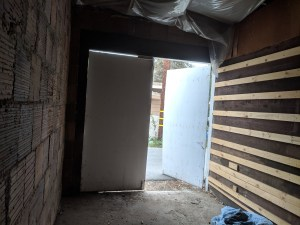 non operational garage door in corona, ca