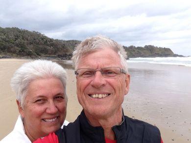 Selfie at Coffs Harbour