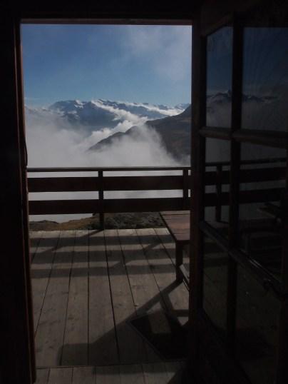 View from the refuge de la Dent Parrachée