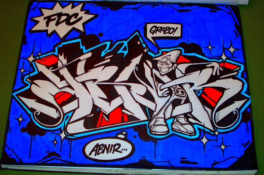 Abnir sketch by Grab