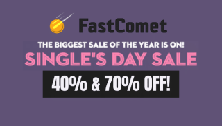 FastComet Single Day Offer
