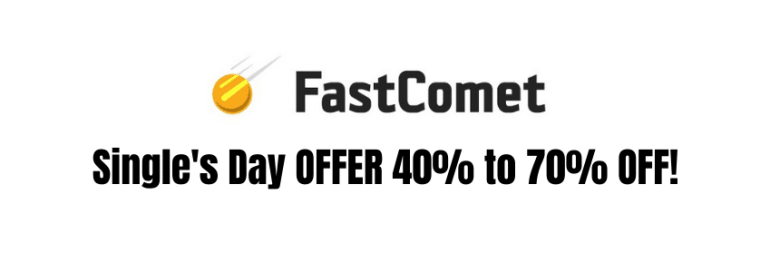 FastComet Hosting Single Day Offer