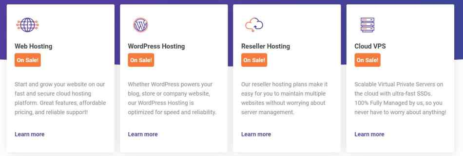 Choose ChemiCloud Hosting Package