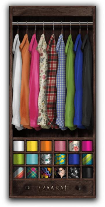 Zaara : [HUD] Classic Suit Brights edition (shirt + tie colors)