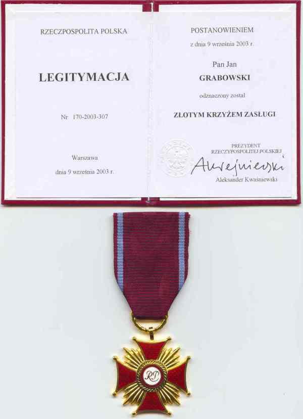 2003_9-września_Złoty-Krzyż-Zasługi