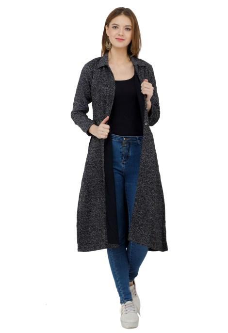 Black jacket dress