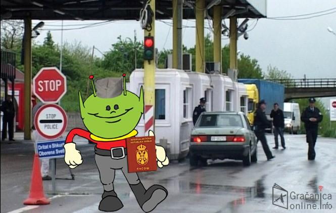 Ванземаљци на Косову