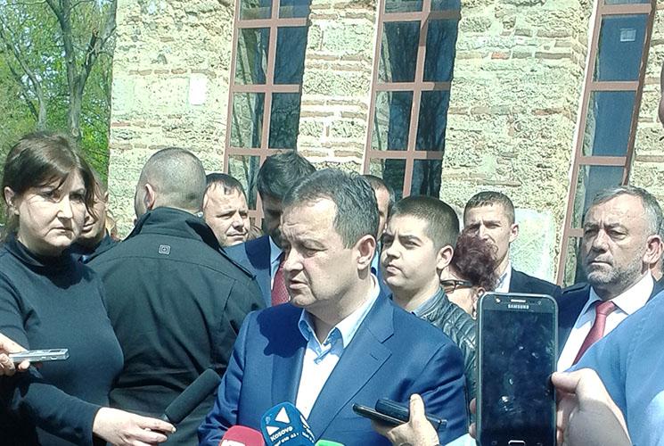 Dačić za Politiku: Amerikanci su pričali sa Moskvom o potpisivanju sporazuma Beograda i Prištine