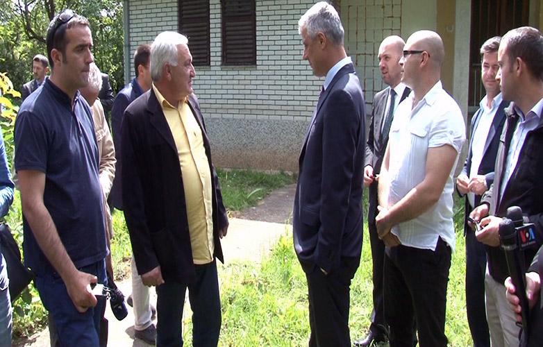 Hašim Tači: Danas sam u poseti bratskoj crnogorskoj porodici