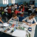 Дечија ликовна колонија у Доњој Гуштерици