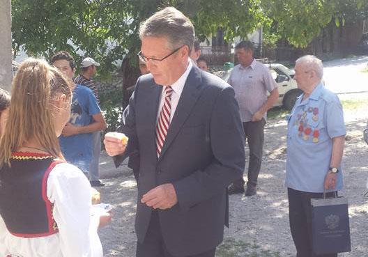Штрпце: Звонко Михајловић се састао са амбасадором Чепурином
