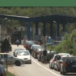 Kolone automobila i na prelazu Bela Zemlja