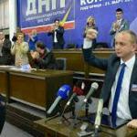 Lider DNP Crne Gore Milan Knežević na parastosu u Starom Grackom