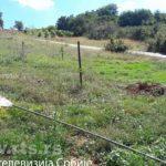 Велика Хоча: Срушен јарбол са српском заставом