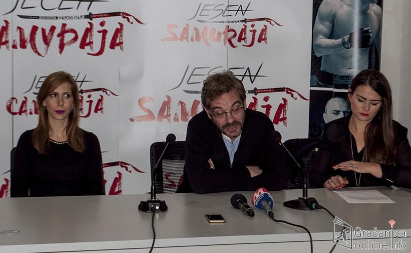 """""""Јесен самураја"""", за пројекције у Грачаници се тражила карта више"""