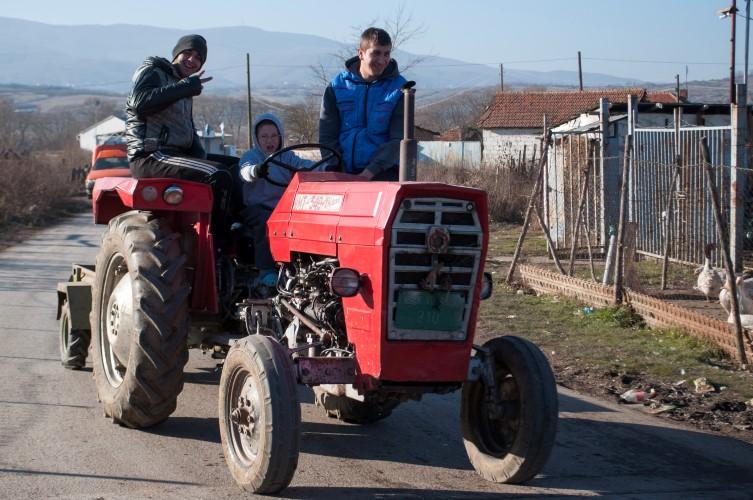Mali traktorista