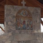 Цркву Вазнесења Христовог у Церници красе три нова мозаика