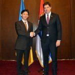 Ђурић се састао са амбасадором Украјине у Београду