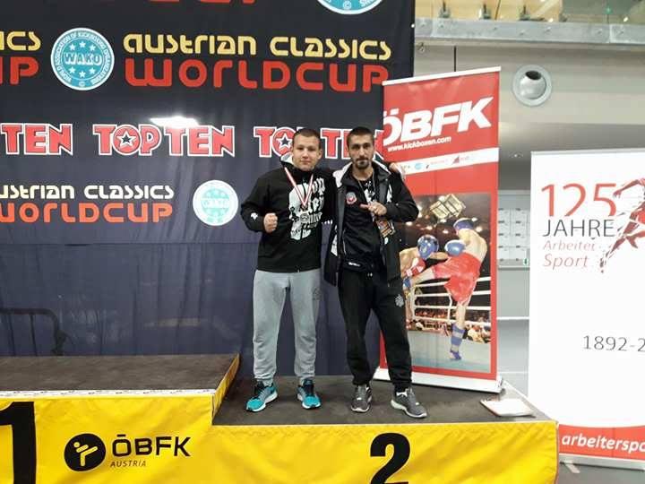 Никола Ковачевић освојио друго место на светском шампионату у фул контакту у Аустрији