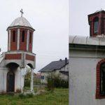Оштећен храм Св. Петра и Павла у Талиновцу код Урошевца