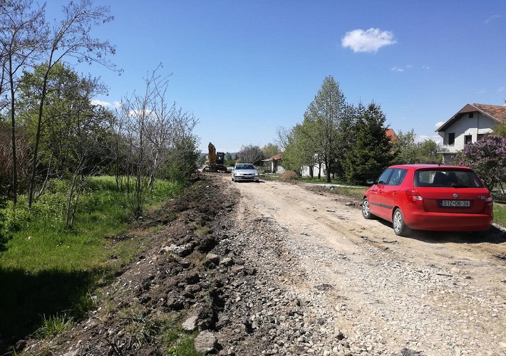 Почела реконструкција пута Лепина – Радево