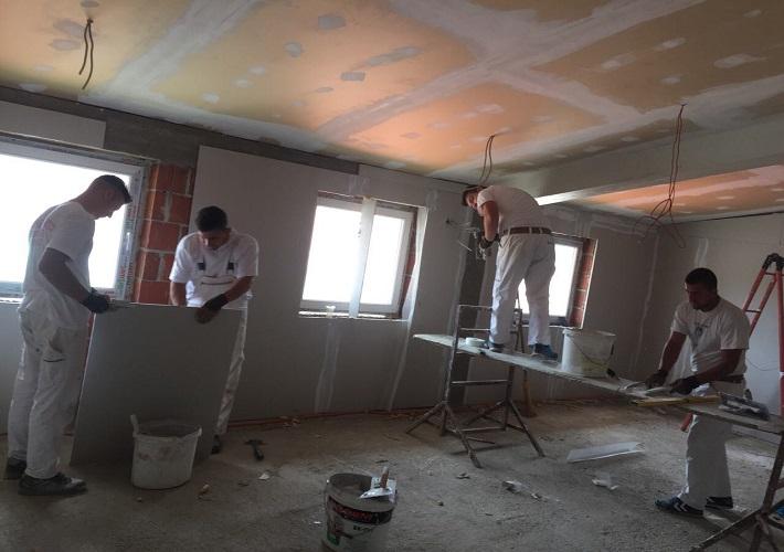 Radovi na završetku objekta u Domu zdravlja u D. Gušterici