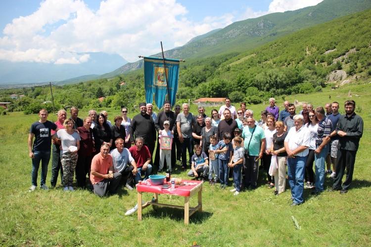 Обележен Духовски уторак у селу Љубожда код Истока
