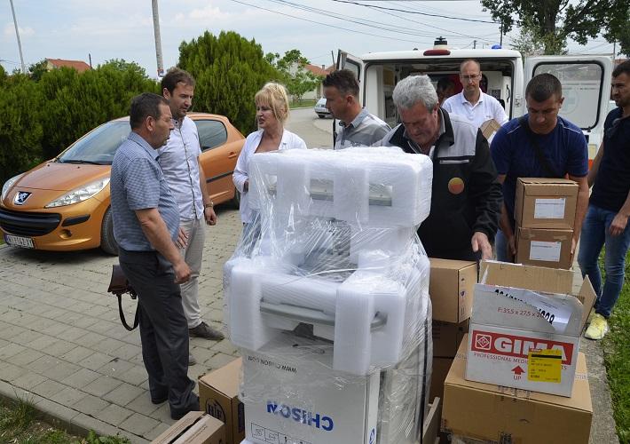 Nova oprema za bolnicu u Lapljem Selu