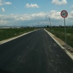 Нови асфалт на путу Лепина – Радево