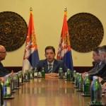 Вучић и Ђурић се састају са представницима Срба са КиМ