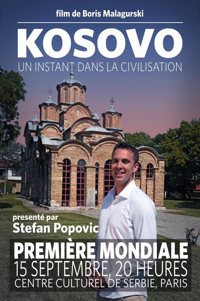 """""""Косово – моменат у цивилизацији"""", премијера у Паризу, па у Београду"""