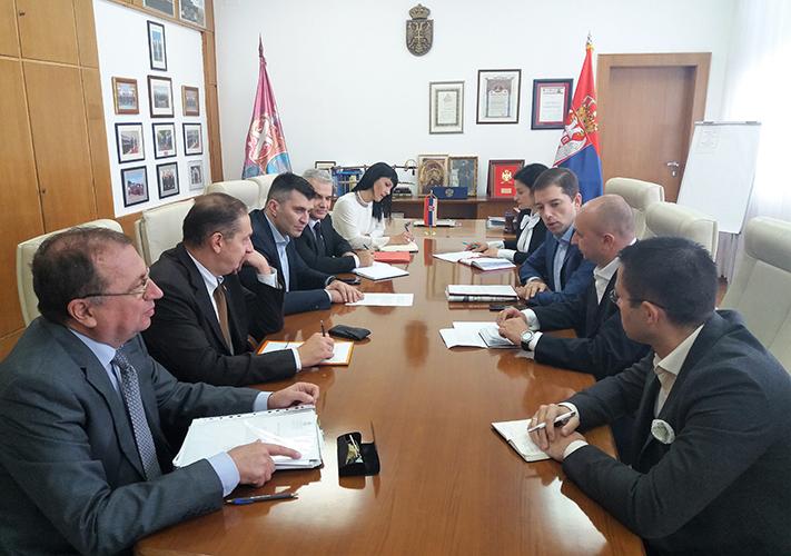 Министар Ђорђевић састао се са директором Канцеларије за Косово и Метохију Марком Ђурићем